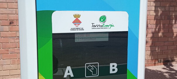 Torres Energia - Punc de recàrrega vehicles a Torres de Segre